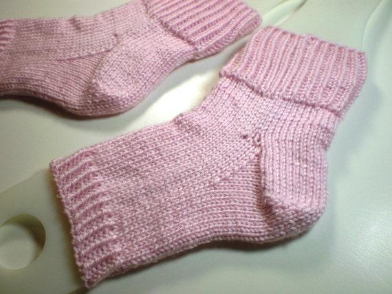 Knit flip flop socks ... toeless pedi socks ... by KritterKnitter