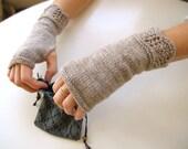 Shallows Fingerless Mitts Knitting Pattern