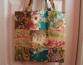 Japanese Fabric Patchwork Tote