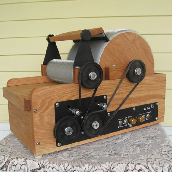 Fancy Kitty BIG TOM 54/54 dual powered Cottage Industry Art Batt Drum Carder