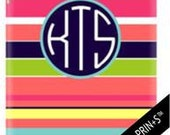 NEW iPad & Kindle Cases Monogrammed and Designed by conniption Prints- Choose your design