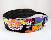 Reversible Headband - Day of the Dead