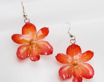 Hanami Orchid Earrings