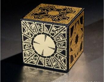 Hellraiser Puzzle Box Foil Face Design
