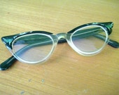 Cute Cat's-Eye Glasses - vintage eyeglasses