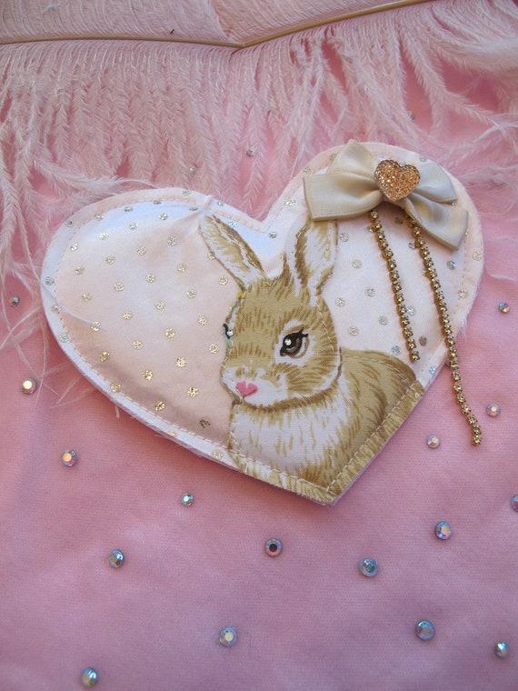 Bunny Heart Badge