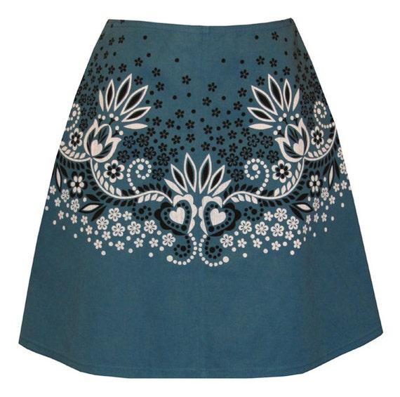 Bandana Print Skirt 41