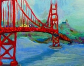 golden gate ... Ode to The Golden Gate Bridge ... limited edition print