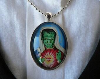 Saint Frankenstein Pendant