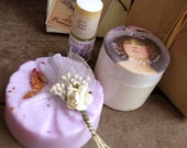 Lilac Gift Set Perfume Lotion Soap
