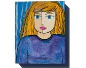 Girl Portrait - Blue Eyes...