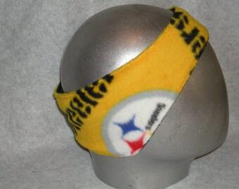 Steelers Fleece Adult Ear Warmers Muffs Headband