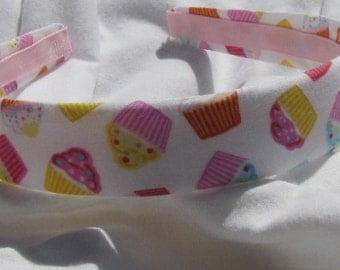 Mini Cupcake Headband Happy Birthday Headband