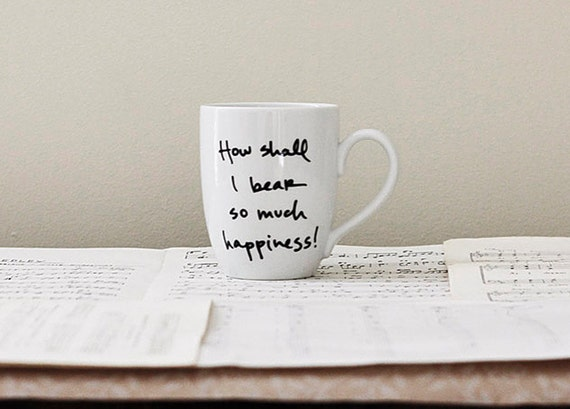 Happiness Mug - Jane Austen