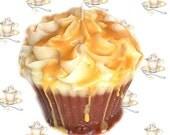 Cafe Caramel Cupcake Candle Creamy Coffee Scent