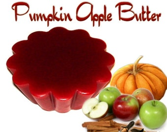 4 Pumpkin Apple Butter Tarts Wickless Candle Melts Fruit and Spice Scent