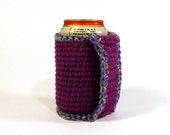 Coozie Koozie Cozy Crochet Cotton Butterfingers Gift