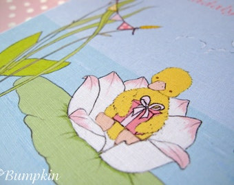 Invitations - Little Duckling's Party- Blue or Pink