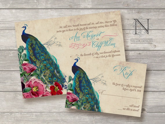 Peacock Wedding Invitations Cheap is the best ideas you have to choose for invitation example