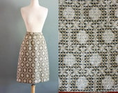 70s XS/S Tweed High Waist SKIRT
