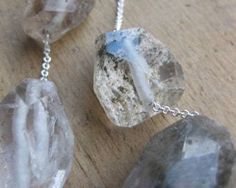 PHANTOM quartz crystal necklace