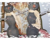 Primitive Black Snowmen