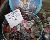 Pin Back Buttons-Anything Your Little Heart Desires