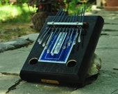 Cigar Box Kalimba - 11Tine B flat major pentatonic