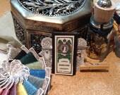 Vinatge Art Nouveau Lady's Travel Embroidery Kit OOAK