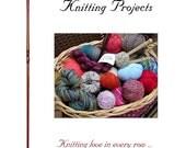 Two Custom Knitting Journals for Natalie