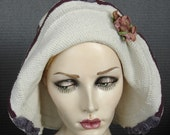 Flapper Style 1930 Cotton Crochet Hat On Sale