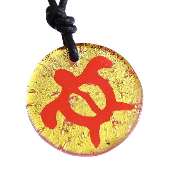 Beautiful Turtles Jewelry Hawaii Jewelry Honu Symbol Dichroic glass ...