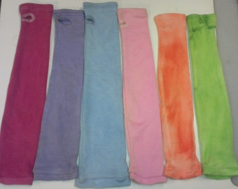"""SALE Hand Dyed stretch Nomex sleeves 18"""""""