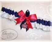 Handmade Wedding Garter Toss Montreal Canadiens Satin W-NRN