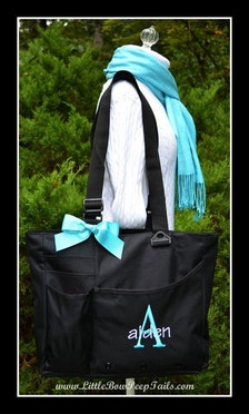 boys super feature tote initial and name monogrammed diaper bag personali. Black Bedroom Furniture Sets. Home Design Ideas
