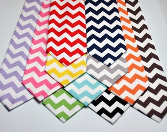 Men's Tie Chevron Neckties for Guys