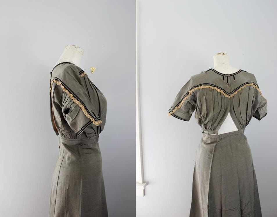 antique bathing costume