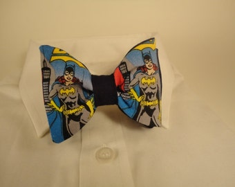 Bow tie Batwoman Fabric, DC Comics