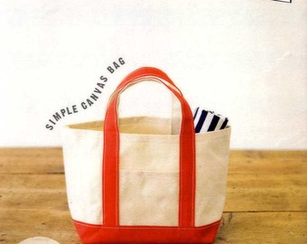 Simple Canvas Book - Japanese Craft Book