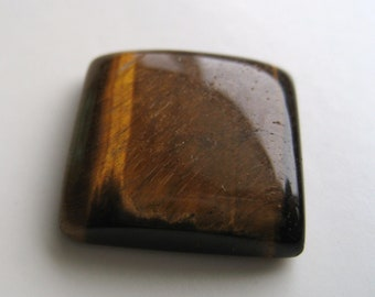 Tiger's Eye - Nearly Square Cabochon, 24.75 cts (TE102)