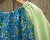 SALE Upcycled flannelette nightie 3T