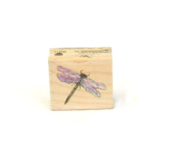 Rubber Stamp, dragonfly, lacy, Flavia, C, destash