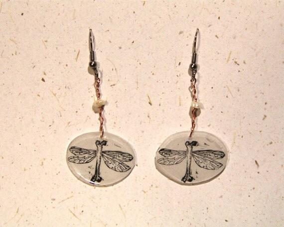 BoneFly Earrings