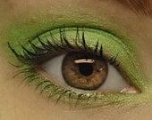 Lime Green Glitter Eyeshadow - RADIOACTIVE (165) Mineral Eye Shadow