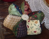 Pin cushion, Primitive Pin cushion, pincushion, pin keep, pinkeep, needle holder