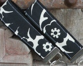 READY TO SHIP-Beautiful Key Fob/Keychain/Wristlet-Sophia on Black