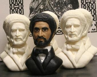 Haile Selassie I Bust, Resin Casted,Rastafari
