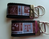 Texas A & M Inspired Tiny Fobs (Set of 2)