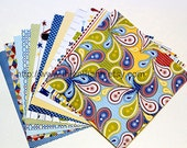 MME 2012 papers pack - six by six - summer splash collection - set of 12 - double side cardstock - 6x6