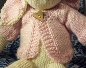 Knit Sweater for Stuffed Bunny